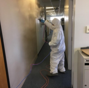 building cleaning service from coronavirus