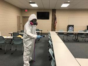 coronavirus cleaning service company